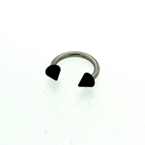 Strieborný piercing 14437