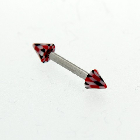 Strieborný piercing 14450